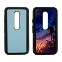 For Moto G3 TPU+PC rubber soft case with your photo or design