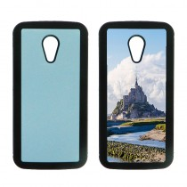 For Moto G2 TPU+PC rubber soft case with your photo or design