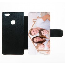 For Huawei P10 lite PU leather case with Card slot strong protection horizontal open business case with your photo or design