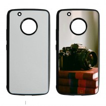 For Moto G5 plus TPU+PC rubber soft case with your photo or design