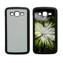 For Samsung Galaxy grand 2 TPU+PC rubber soft case with your photo or design