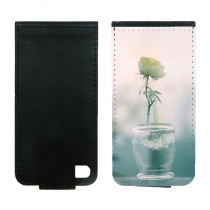 For iphone 4 4S PU leather case with Card slot strong protection vertical open business case with your photo or design