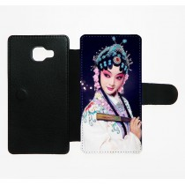 For Samsung Galaxy A5 2016 A310 PU leather case with Card slot strong protection horizontal open business case with your photo or design