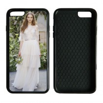 For iphone 6 plus 6S plus 2in1 TPU+PC very strong protection case with your photo or design