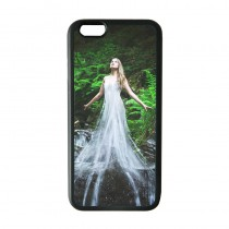 For iphone 6 6S TPU+PC rubber soft case with your photo or design
