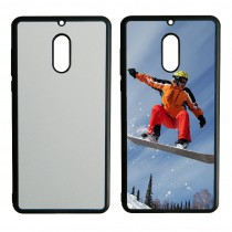 For Nokia 6 TPU+PC rubber soft case with your photo or design