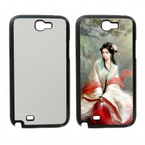 For Samsung Galaxy Note2 Hard plastic case with your photo or design