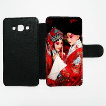 For Samsung Galaxy A5 PU leather case with Card slot strong protection horizontal open business case with your photo or design