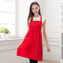 cotton apron with custom photo or design or logo print logo on kitchen Advertising  aprons