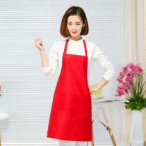 Polyester fiber apron with custom photo or design or logo print logo on kitchen Advertising  aprons
