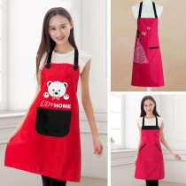 apron with custom photo or design or logo print logo on kitchen Advertising  aprons
