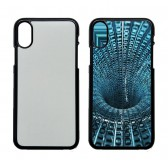 Newest product For iphone X Hard plastic customized case with you