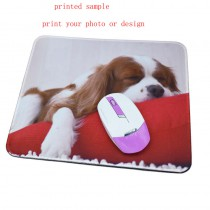 Natural rubber mouse pads with your custom photo or design or logo
