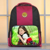 child schoolbag for girls boys kids  with your kids custom photo or design or text name