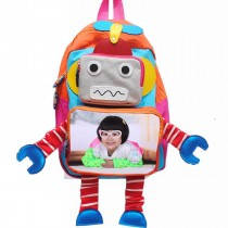 schoolbag for girls boys kids  with your kids custom photo or design or text name Suitable for 2-5 years