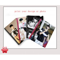 Notebooks with your custom personalized photo or design or logo A4 B5 B6 Notebook Heat Transfer