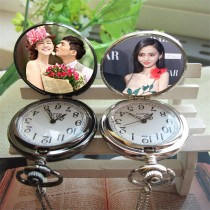 retro vintage pocket watches necklaces pendants with your custom photo or design