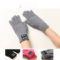 wireless bluetooth Headset earphones Knitted sport gloves for women smart Electronics touch screen glove accessories