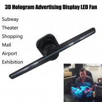3D spinning led Holographic visual fan  holographic advertising machine