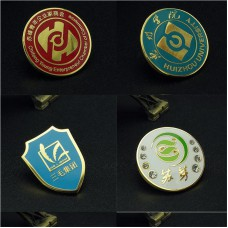 Customization enamel pins custom your design high quality small quantity brooches jewelry factory price