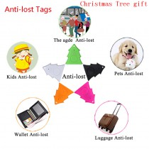 Christmas Tree smart key finder locator tracer Anti lost alarm child tracker Control Selfie for iPhone IOS Android key ITags custom design