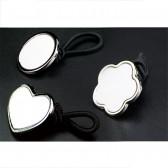 sublimation blank hair accessory  can print custom design or phot