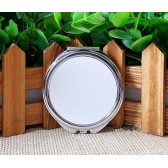 blank makeup mirrors for sublimation hermal transfer printing rou